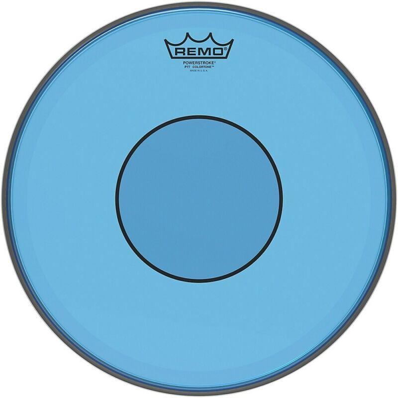 Remo Powerstroke 77 Colortone Blue Drum Head 14 in.