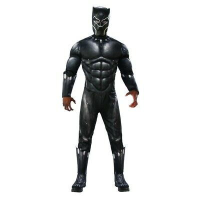 Black Panther Deluxe Adult Mens Costume, 820992, Rubies](Rubies Costumes)