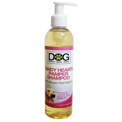 250ml Distinctive Original Grooming Dog Candy Hearts Pamper Shampoo