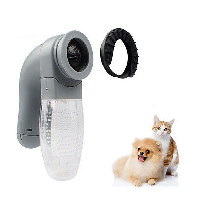 Pet Puppy Hair Remover Dog Cat Vacuum Removal Suction Grooming Vacuum Clean Fur
