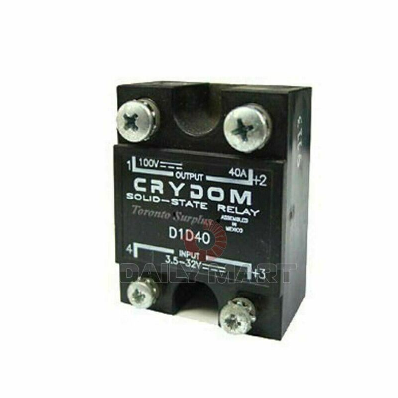 New In Box CRYDOM D1D40 Module Supply