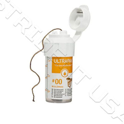 Ultrapak Knitted Gingival Retraction Cord 00 Ultradent