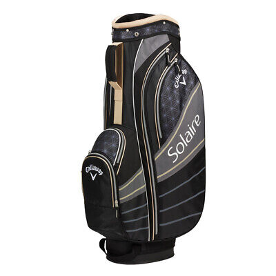 NEW 2019 CALLAWAY WOMEN SOLAIRE 6-WAY CART BAG CHAMPAGNE