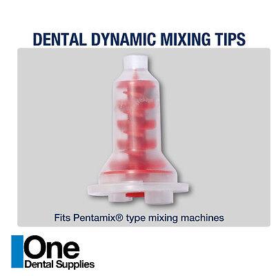Dental Impression Mixing Tips Dynamic 100 Pcs