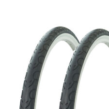 "2 Tires Wanda 26/"" x 1.50/"" Black//White Sidewall G-5013 Heavy Duty Bicycle Tire"