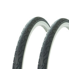 "2 Tires Wanda 26/"" x 1.50/"" White//White Sidewall G-5013 Heavy Duty Bicycle Tire"