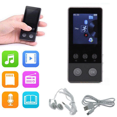 Latest Version MP3 MP4 Music Player Best Stereo Sound Portable W/USB