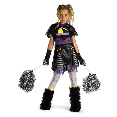 D/ceptions Werewolf Wolf Pack Leader Cheerleader Child Girls Costume Medium 7-8 - Wolf Pack Costume