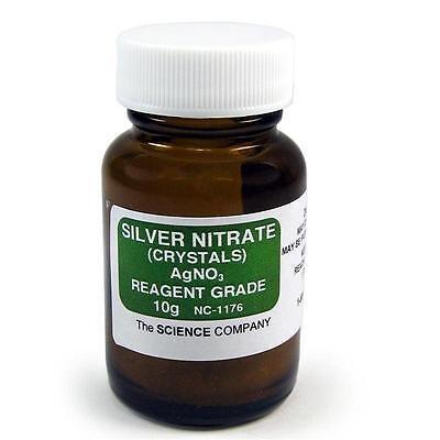 Silver Nitrate 10g Photography Raku Glaze