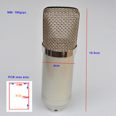 DIY mirphone body   can be used by all kinds of microphone condenser