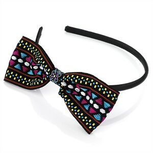 BOW ALICE BAND VARIOUS BOW HEADBANDS HAIR BAND HEAD BAND  RETRO FASHION HAIR