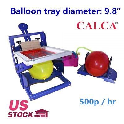 Manual Balloon Screen Printing Machine Kit Birthday Carnival Party Decoration