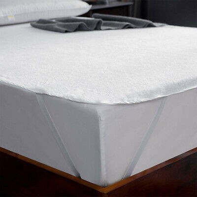 Best Mattress Cover Cloth Cotton Straps Waterproof Pad Protector