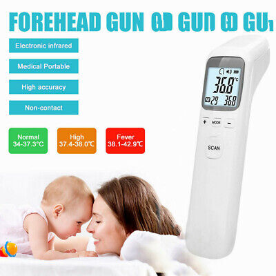Infrared Non-contact Digital Forehead Body Ir Thermometer Termometro Bady Adult