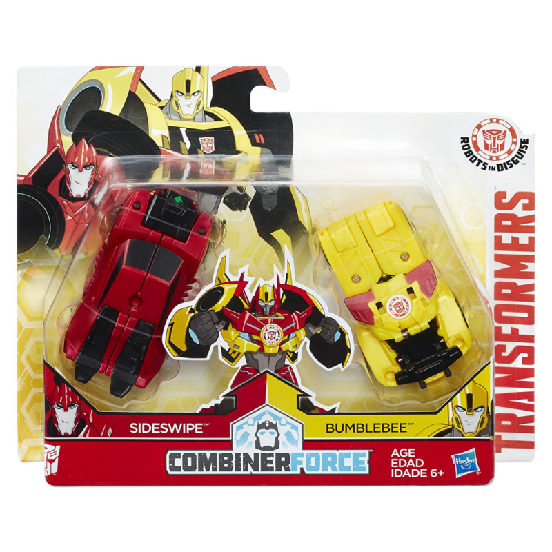 Transformers Robots in Disguise Combineur Force Crash Combineur beeside par Hasbro