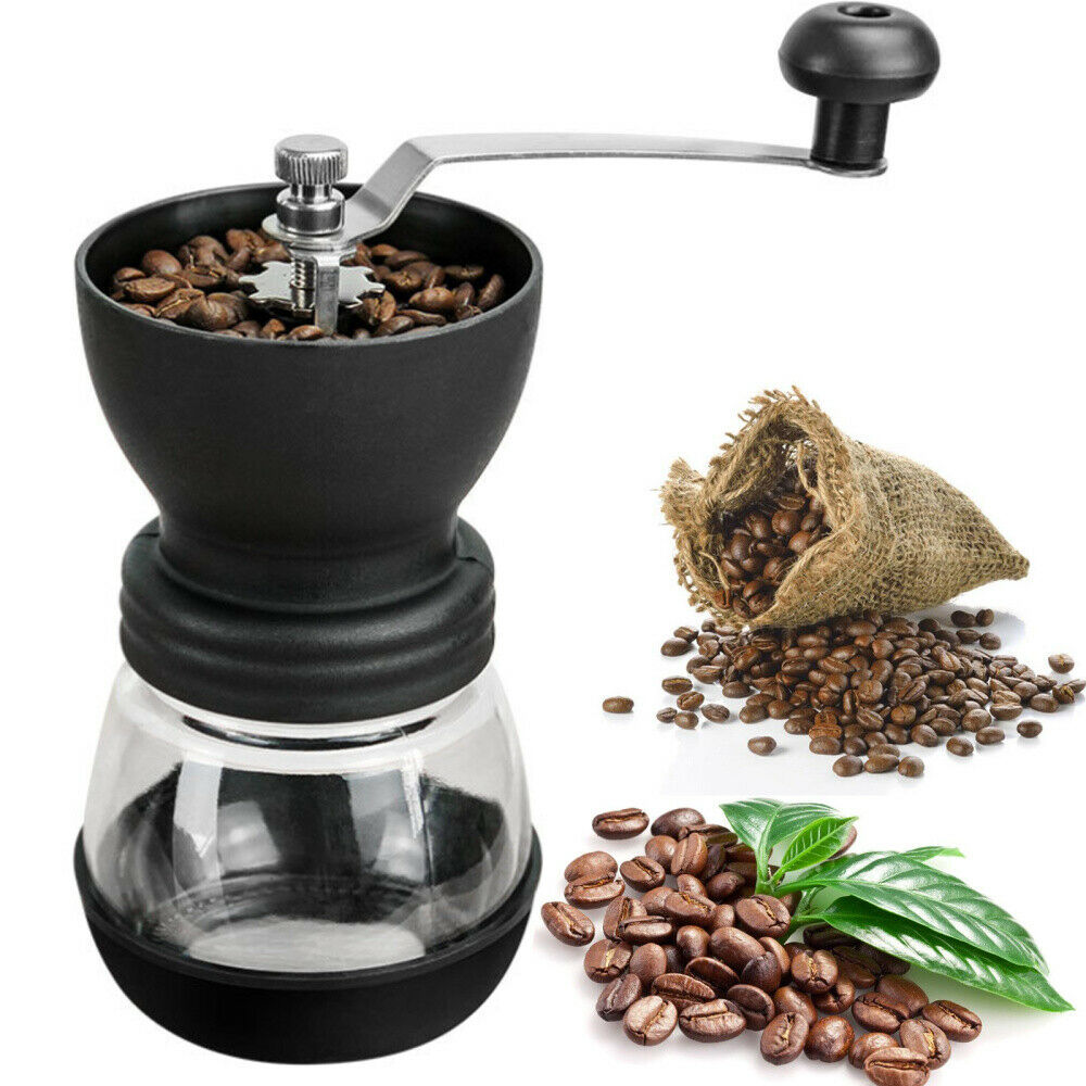 Details About Hand Coffee Grinder Manual Nuts Beans Grinding Milling Matte Blender Washable Uk