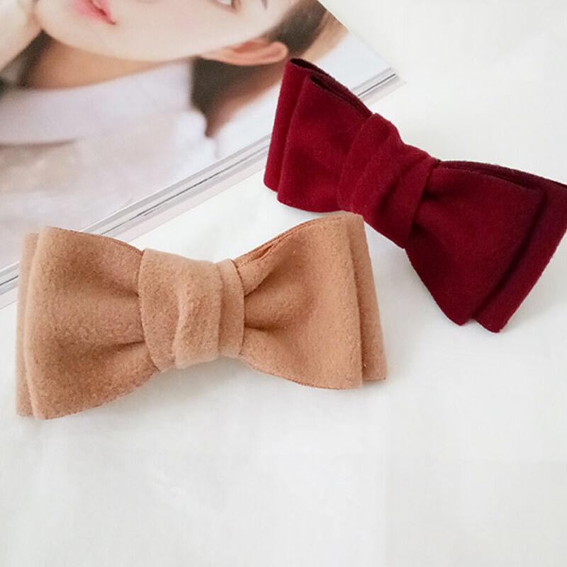 Women fashion hot sale multicolor hairpin clips bow hairpin hairpin