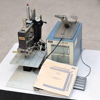 Hughes Reflow Soldering System Htt-1000 Power Supply Vta-70 Weld Head As-is