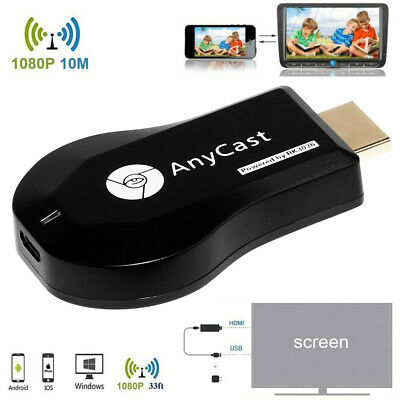 1080P HD 2nd Generation Media Video Digital Streamer Dongle Wireless AnyCast
