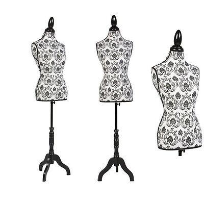 New Female Mannequin Dress Form Torso Tailor Dressmaker Stand Display Adjustable