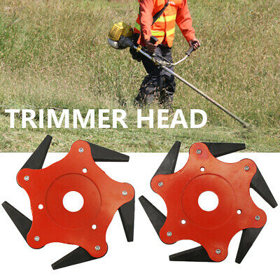5&6T Steel Blades for Razors 65Mn Lawn Mower Grass Cutter Trimmer Head BEST