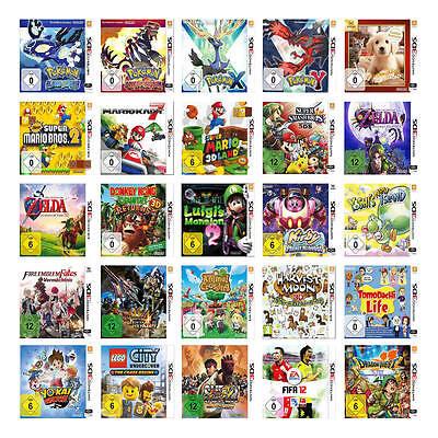 Die besten Nintendo 3DS Spiele (mit OVP)