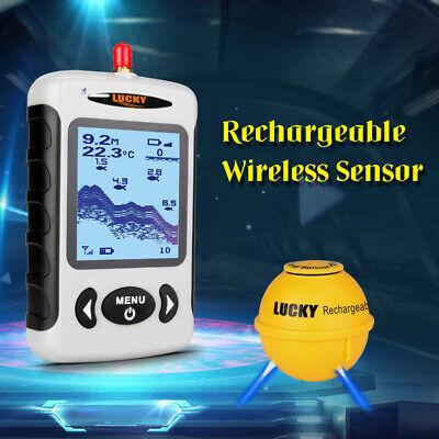 LUCKY Portable Professional Sounder Wireless Sonar Fisch Finder Fischen V2K3 Portable Sonar