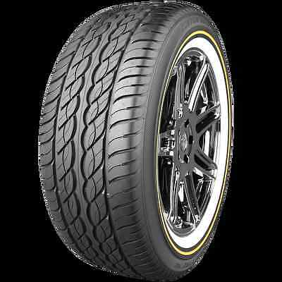(2) TWO!! VOGUE TYRE SIZE 225 60 16!! TIRES 225/60R16 WHITE & GOLD!!