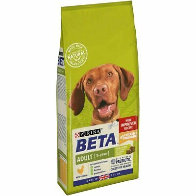 Beta adult chicken 2 kg complete dog food - new imporved recipe