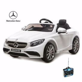 12v Mercedes Kids Licensed Electric Car - White RRP £250