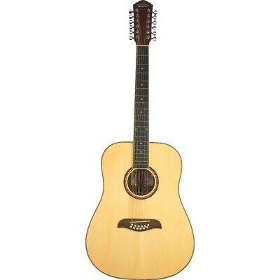 Oscar Schmidt 12 String Acoustic Guitar Model OD312-A  with Spruce Top - Natural
