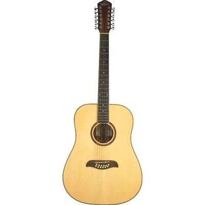 Oscar Schmidt 12 String Acoustic Guitar Model OD312-A  with Spruce Top - Natural