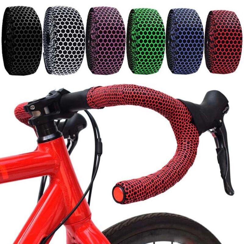 Pair Thick EVA Bicycle Handlebar Tape Bar Drop Wrap MTB Road Bike Anti-Slip Tape