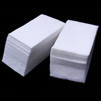 800PCS Lint Free Nail Art Gel Polish Remover Cotton Pad Nail Wipe Cleansing