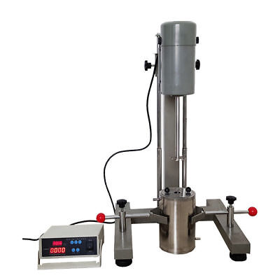 Fs-400d Lab Digital Display High-speed Grinding Disperser Homogenizer Mixer220vu