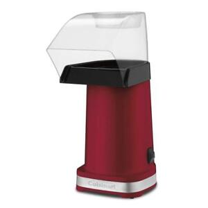 Cuisinart CPM-100EC Easypop Hot Air Popcorn Maker Red Condition: Used