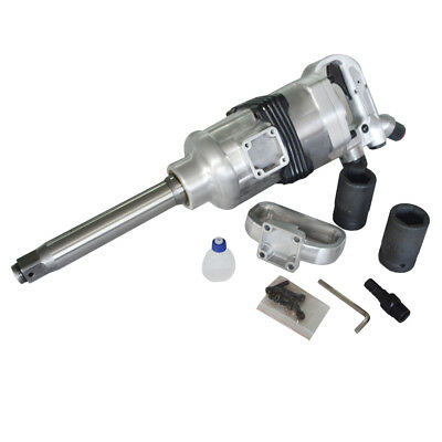 Heavy Duty 1 Drive Air Impact Wrench Tool Gun 1 Inch Long Shank 1900 Ft-lbs
