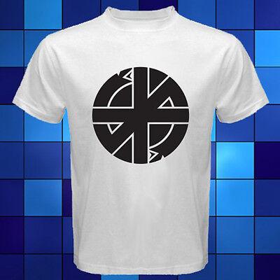 Crass Anarchy Punk Rock Band Logo White T Shirt Size S M L Xl 2Xl 3Xl
