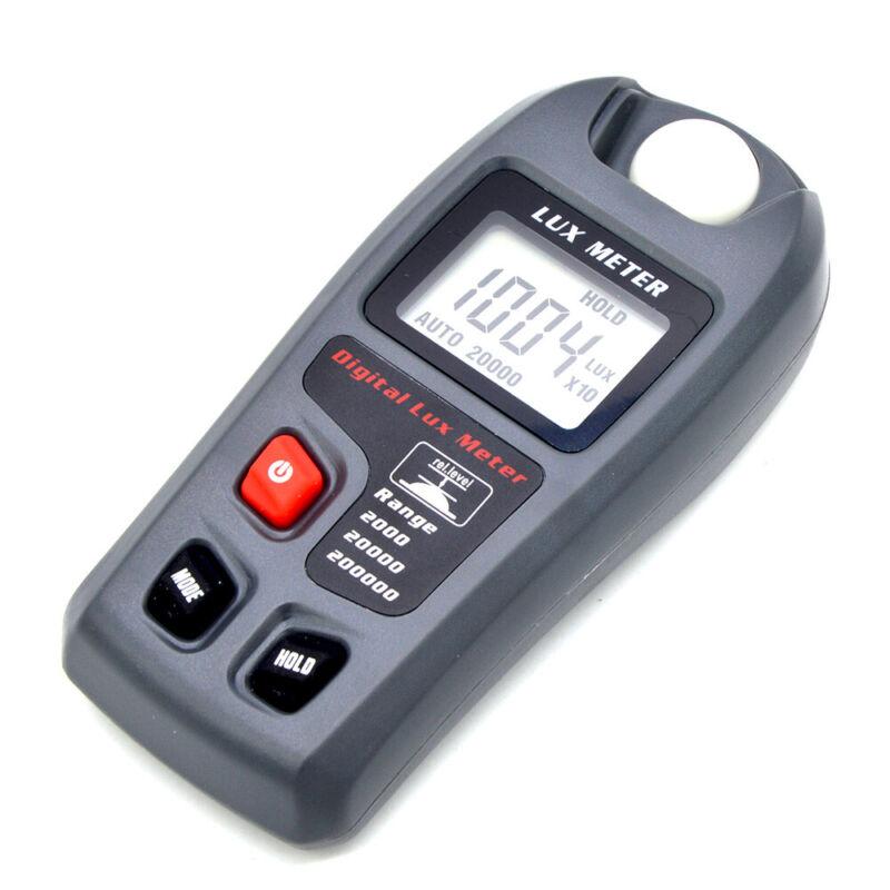 Precision LCD Digital Luxmeter Luminometer Photometer Light Meter Tester Tool