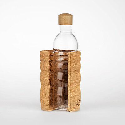 NEU! Trinkflasche LAGOENA 0,7 l Glasflasche I Nature´s Design I Wasserflasche