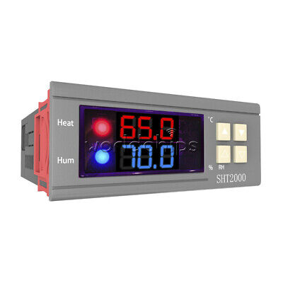 Sht2000 Dc 12-72v 10a Temperature Humidity Hygrometer Thermostat Controller