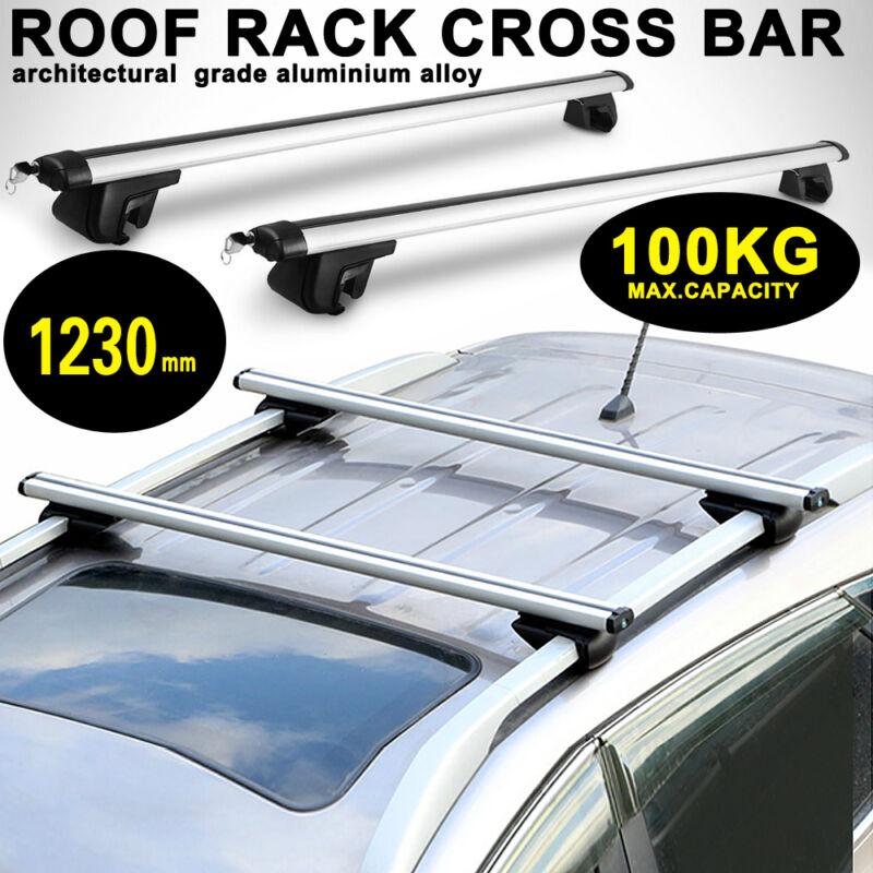 00-12 Aluminium locking roof bars Hyundai Santa Fe