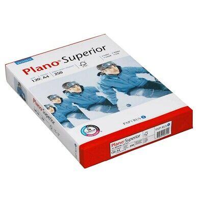 250 Blatt Plano Kopierpapier Superior A4 120 g/qm Kopier Papiere