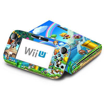 - New Super Mario Bros. U - Nintendo Wii U & GamePad Skin Decal Sticker Vinyl Wrap