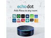 Brand New Amazon Echo Dot Alexa Room Voice Control Cost £50