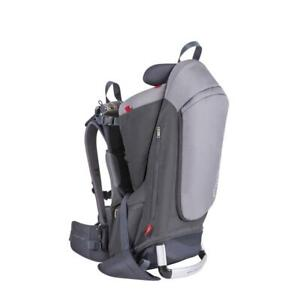 NEW philteds Escape Child Carrier Frame Backpack, Charcoal Height Adjustable Body-Tech Harness - Articulating Dual Co...