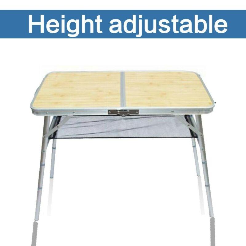 mini portable folding table aluminum indoor outdoor