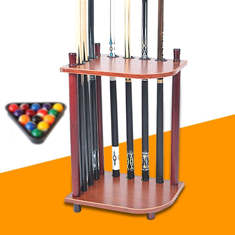 Pool Billiard Cue Stick Floor Rack Stand Holder - Holds 7 Cue Sticks