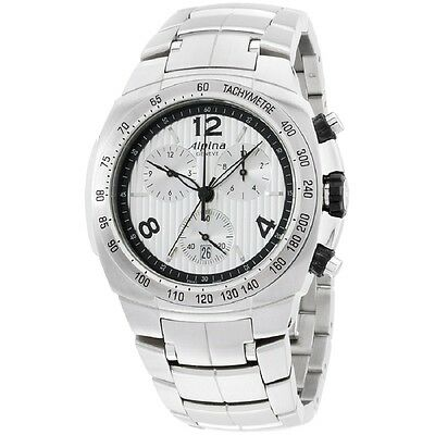 Alpina Avalanche Silver Dial Stainless Steel Men's Watch AL350LSSB4A6B