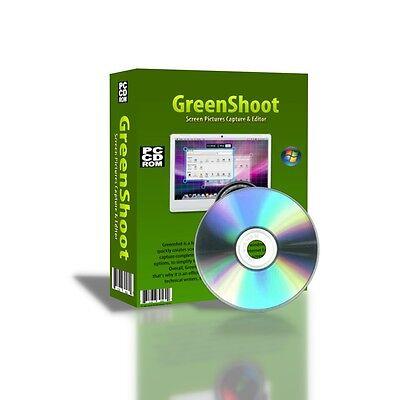 Greenshoot Screen Shoot Capture Picture Photo Editor Windows Cdrom
